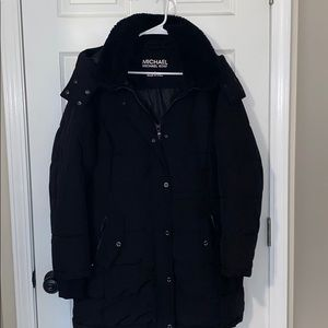 MICHAEL Michael Kors Long Puffer Winter Coat